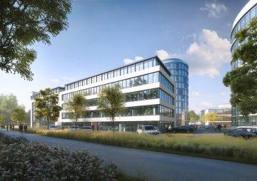 Büropark 2020: Modernes Desgin – Bürogebäude mit funktionalen Grundrissen (200-2000 qm) 85521 Ottobrunn b. München, Bürohaus