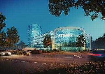 Büropark 2020 – der neue Turm: Jetzt die besten Flächen sichern und individuell gestalten! 85521 Ottobrunn b. München, Bürohaus